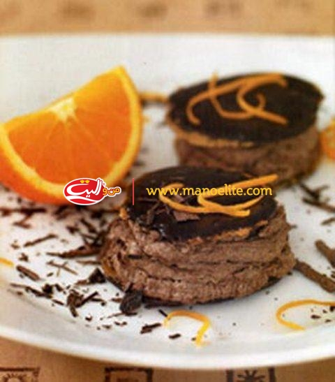 Chocolate Wafer with orange flavor